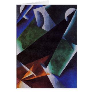 Painterly-Architectonic by Lyubov Popova Greeting Card