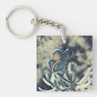 Painterly Butterfly Keychain