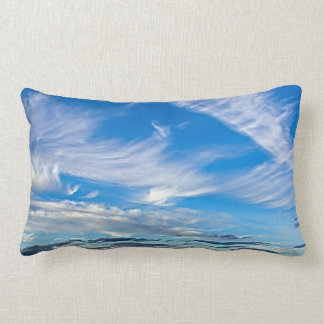 Painterly Cloud Pillow Throw Cushion