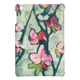 Painterly flowers iPad mini cases