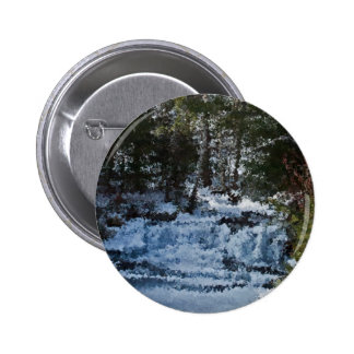 Painterly Forrest Pin