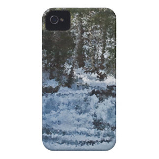 Painterly Forrest iPhone 4 Cases