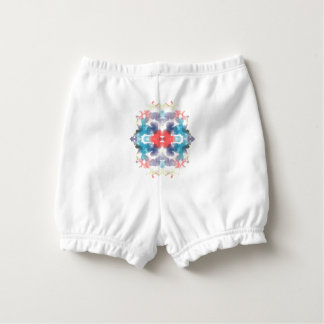 """""""Painterly Inks"""" Infant/Toddler Bloomers Nappy Cover"""