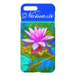 Painterly Pink Lotus Namaste Yoga Teacher iPhone 7 Plus Case