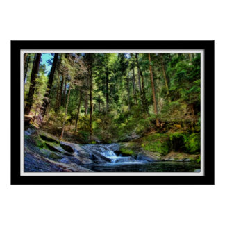 Painterly Stream Photo Posters