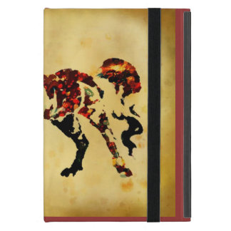 Painterly style horse ipad cover