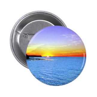 Painterly Sunset Pins