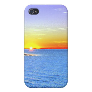 Painterly Sunset iPhone 4 Covers