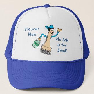 Painter's Baseball Cap Template