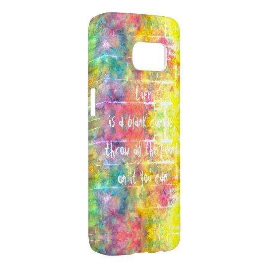 [Painter's Cloth]  Distressed Rainbow Tie-Dye