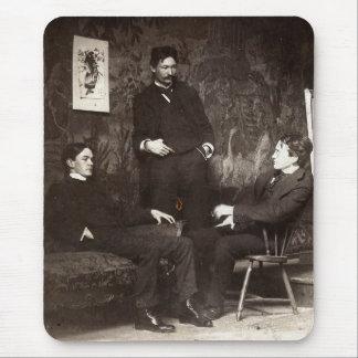 Painters Everett Shinn Robert Henri John Sloan Mouse Pad