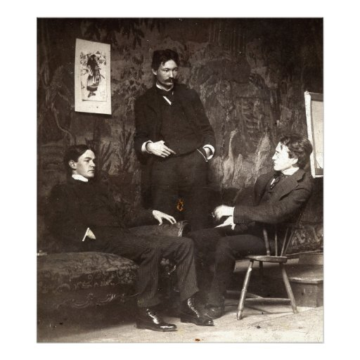 Painters Everett Shinn Robert Henri John Sloan Photograph
