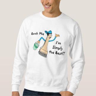 Painter's Men's Sweatshirt Template