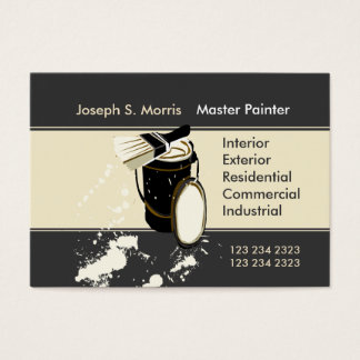 Painters Painting Services Home Improvement Business Card