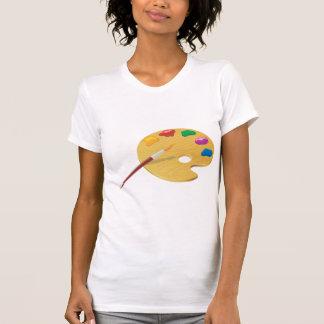 Painters Palette Womens T-Shirt