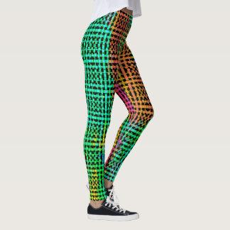 Painter's Pants 3 Bold Weave Pop Fashion Leggings