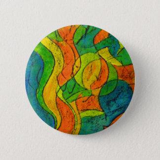 Painting 6 Cm Round Badge