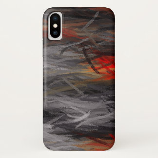 Painting Abstract Background iPhone X Case