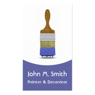 Painting and Decorating Business Card