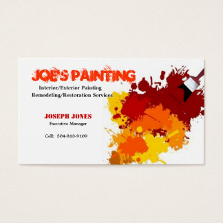 Painting Business Card-Sample II Business Card