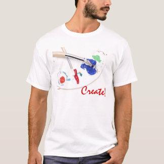 Painting - Create! T-Shirt