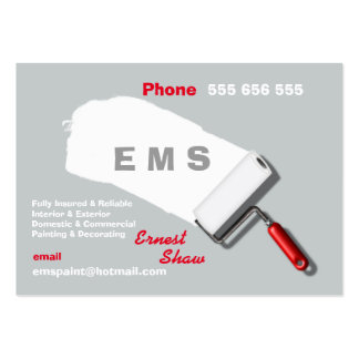 Painting & Decorating Business Pack Of Chubby Business Cards
