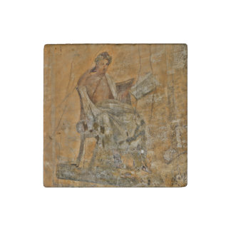Painting from Pompeii Stone Magnet