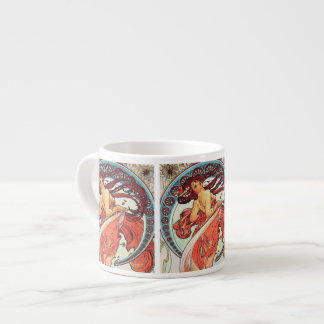 """Painting"" from The Arts series by Alphonse Mucha Espresso Mug"