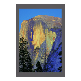 Painting Half Dome Poster