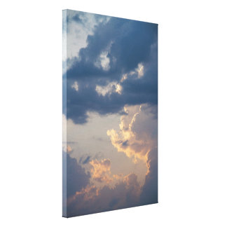Painting in the Sky II / Maalaus taivaalla II Canvas Print