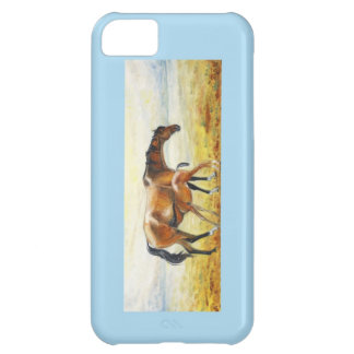 painting mare with foal iPhone 5C cover