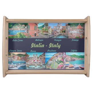 Painting my Italy - Small Serving Tray