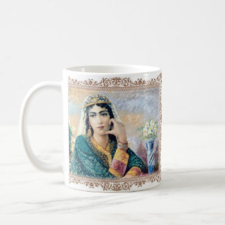 Painting of a Beautiful Persian Girl mug