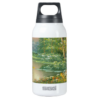 Painting Of A Fall River Scene 0.3 Litre Insulated SIGG Thermos Water Bottle