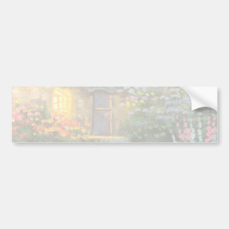 Painting Of A Private Cottage Bumper Sticker