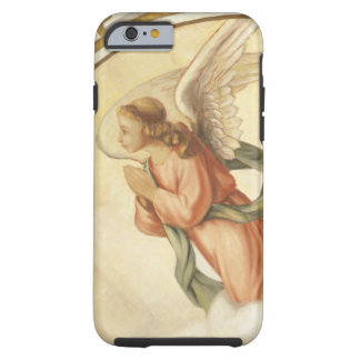 Painting of an angel praying tough iPhone 6 case