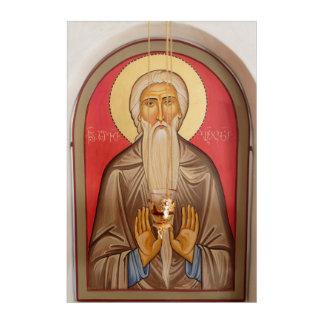 Painting Of An Elderly Saint Acrylic Wall Art