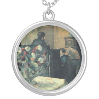 Painting of an Interior at Rue Carcel - 1881 Pendants