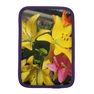 Painting of flowers iPad mini sleeve