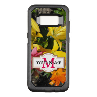 Painting of flowers OtterBox commuter samsung galaxy s8 case
