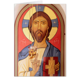 Painting Of Jesus Card