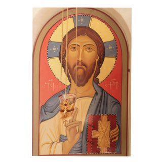 Painting Of Jesus Wood Wall Art