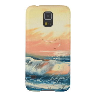 Painting Of Waves At A Beach Case For Galaxy S5