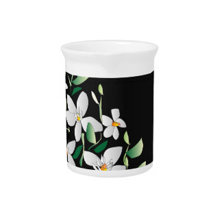 Painting of White Lillies >Flower Pitcher