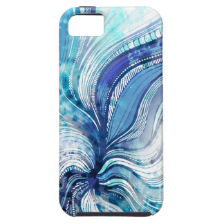 Painting on Watercolor Splatter Texture Case For The iPhone 5