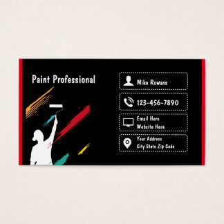 Painting Professional Business Card