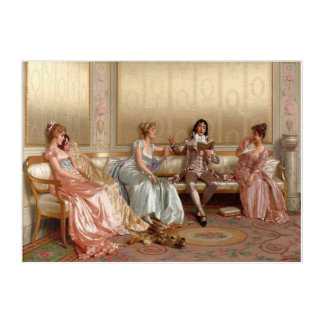 painting the lecture Reggianini Acrylic Print