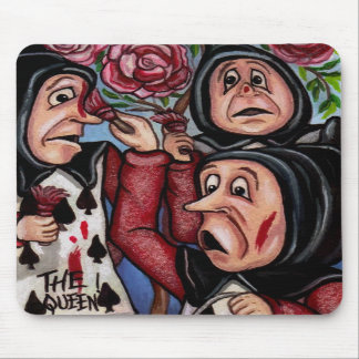 PAINTING THE ROSES Alice in Wonderland Mouse Pad