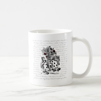 Painting the Roses Red Basic White Mug