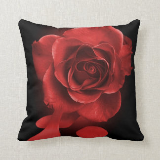 Painting the roses red cushion